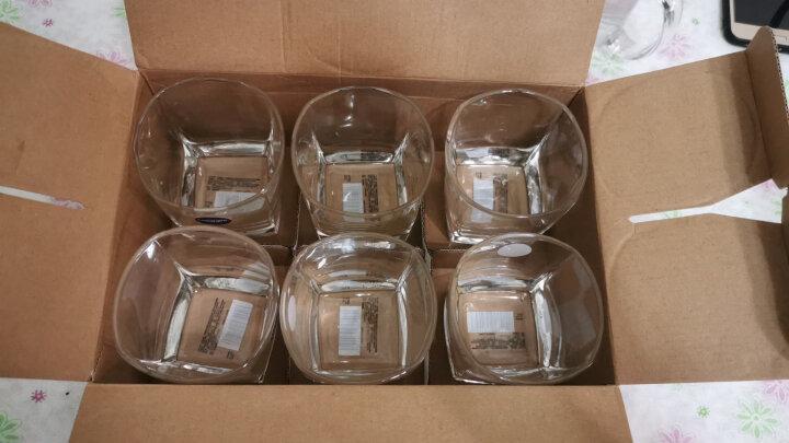 乐美雅 Luminarc 司太宁无铅玻璃水杯茶杯饮料果汁啤酒杯 300ml 6只装 53668 晒单图