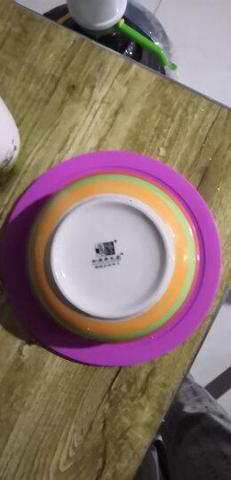美之扣 硅胶保鲜盖密封盖微波炉用碗盖加热盘盖子防油盖圆形菜罩 115mm 根据容器尺寸搭配盖子 晒单图