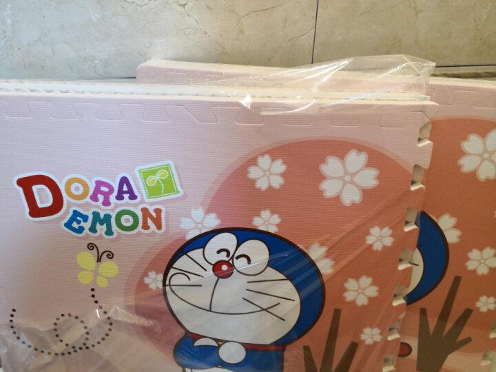 明德哆啦A梦/kitty猫/卡通儿童泡沫拼图地垫宝宝爬行垫 1片价 大草莓Kitty猫(1片价 ) 60*60*1cm 晒单图