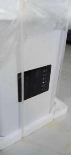 速热奇(SRQ)热水器电热 出水断电 60升扁桶双胆家用变频速热长时保温储水式 摇控 电热水器 40升 出水断电 双防电墙 自行安装 晒单图
