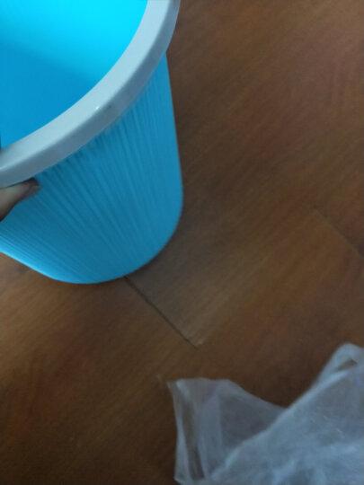 家杰(JJ) 垃圾桶 大号φ295mm稳固金属丝网垃圾篓 办公室居家纸篓 JJ-104黑色 晒单图