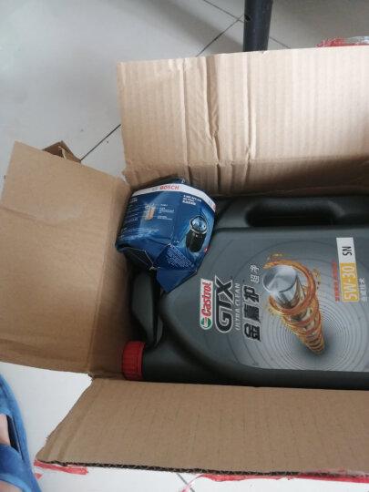 嘉实多(Castrol) 金嘉护 合成技术机油润滑油 10W-40 SN级 4L 汽车用品 晒单图
