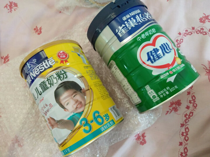 雀巢(Nestle) 中老年奶粉 怡养健心鱼油 成人高钙 成人奶粉 进口鱼油提取物  罐装800g 晒单图