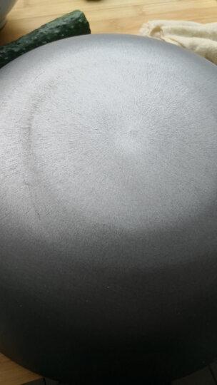 苏泊尔家用传统铁炒锅生铁锅铸铁锅燃气煤气电磁炉通用FC30E 晒单图