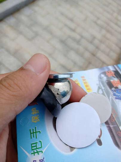奇弗斯 汽车通用小精品饰品功能小件 磁性粘贴导航手机支架 黑色通用 晒单图