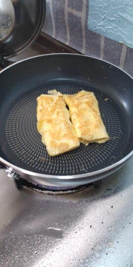 苏泊尔28cm玻璃盖火红点煎锅平底锅不粘电磁炉通用炒菜锅牛排锅PJ28K4 晒单图