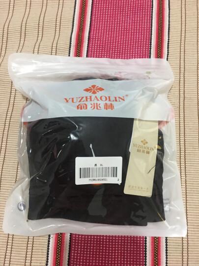 俞兆林运动内衣女背心式聚拢高强度健身瑜伽跑步防震无钢圈运动文胸夏季 黑色 XL 晒单图