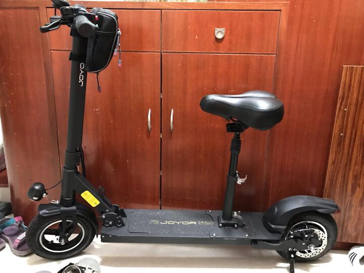 九悦(Joyor)Y5 越野版电动滑板车带座位电动车代步车可折叠自行车前后减震18Ah电池续航60KM 晒单图
