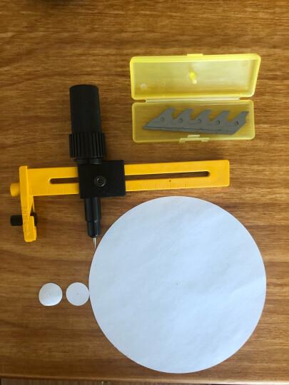 日本OLFA爱利华CMP-1圆规刀大型模型割圆刀薄型裁纸刀开孔器 CMP-3刀 晒单图