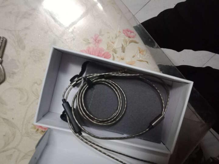 蛇圣(Holy serpent) H5耳机入耳式重低音手机魔音耳塞电脑小米华为苹果通用型线控带麦K歌 枪黑色调音版-带麦 晒单图