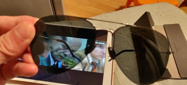 小米(MI)眼镜男女款 TS尼龙偏光太阳镜 米家定制版 金色 晒单图