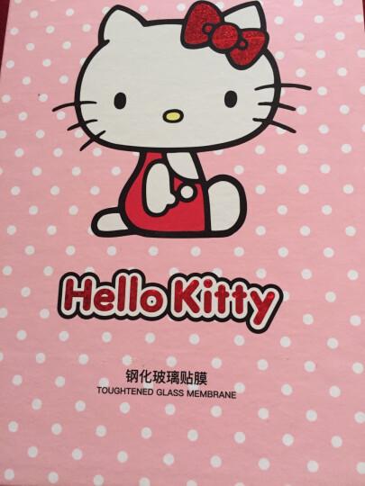 Hello Kitty 苹果iPhone6s/6钢化膜 全覆盖卡通手机保护贴膜 3D软边防碎彩膜 棉花糖凯蒂 红色 晒单图
