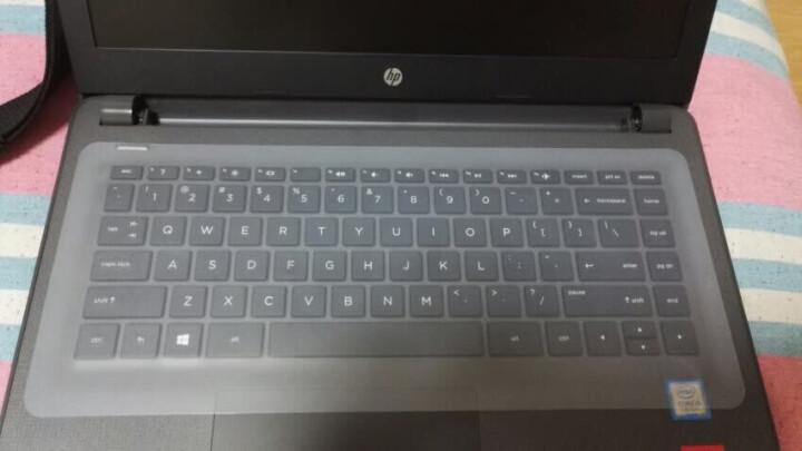 宜客莱(ECOLA)笔记本通用键盘保护膜适用联想天逸小新Thinkpad华硕戴尔惠普微星7-14英寸 KB-EL001W 透明 晒单图
