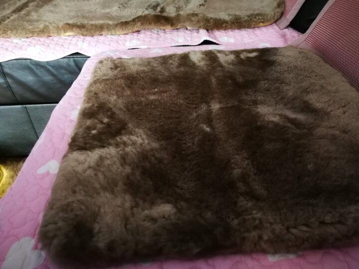 汽车坐垫冬季毛绒非羊毛保暖男女单片三件套座垫 温馨米-卡通版 奇瑞艾瑞泽5瑞虎8瑞虎3x瑞虎7瑞虎5x艾瑞泽7 晒单图