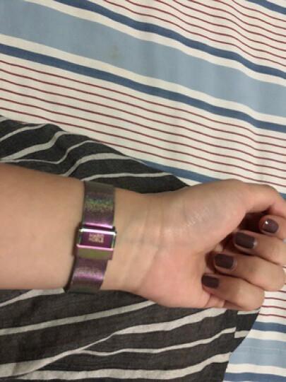 K14(KLASSE14)手表男女情侣手表 意大利时尚凹陷表盘欧美腕表 皮带石英进口男表女表 黑色钢带-女款36mm VO15TI002W 晒单图