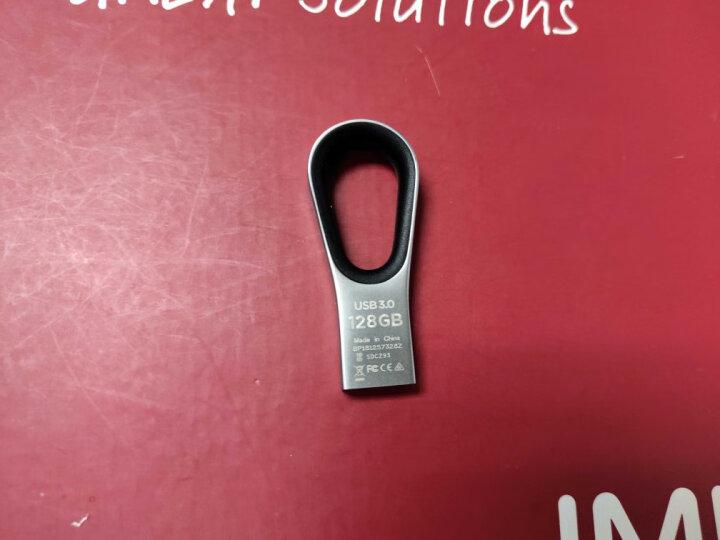闪迪(SanDisk)64GB USB2.0 U盘 CZ50酷刃 黑红色 时尚设计 安全加密软件 晒单图