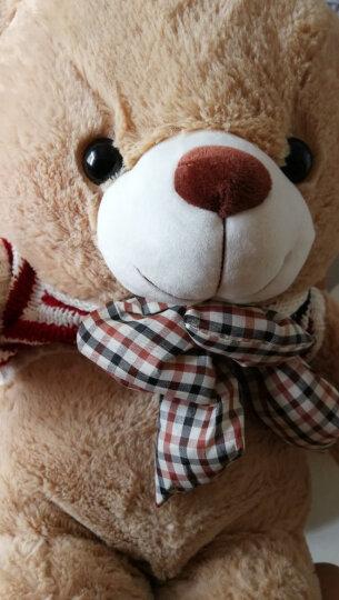 爱尚熊毛绒玩具娃娃公仔泰迪熊猫抱枕公仔布娃娃女孩玩具抱抱熊玩偶狗大熊娃娃睡觉抱枕生日礼物女80cm开心 晒单图