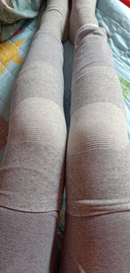 南极人(Nanjiren)护膝自发热保暖中老年关节炎膝盖腿防护运动篮球跑步健身透气男士女士 肤色弹力尼龙款 均码 晒单图