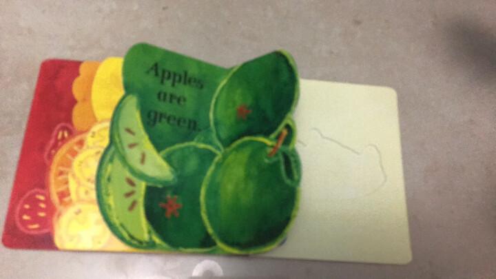草莓是红色的进口原版 平装 童趣绘本学前教育(4-6岁) 晒单图