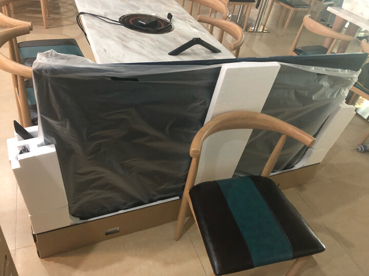 艾美 DF70-T(55-75英寸)曲面电视挂架 电视架 电视机挂架 电视支架 壁挂仰角可调 夏普长虹小米海信飞利浦 晒单图