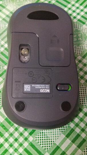 罗技(Logitech)M220 无线静音鼠标 畅销外形 灰色 M185升级版 晒单图