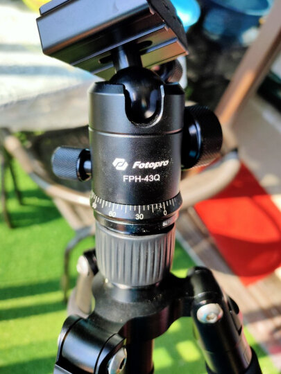 富图宝(Fotopro) M-4S 迷你专业三脚架微距单反 微单三角架轻便携三脚支架云台套装 晒单图