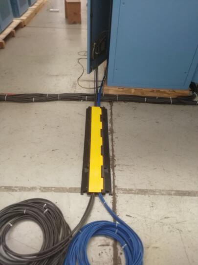 统领(TONGLING) 线槽减速带橡胶线槽板室内过线槽室外护线槽盖线板压线槽板 贴膜橡胶室内二线槽小号 晒单图