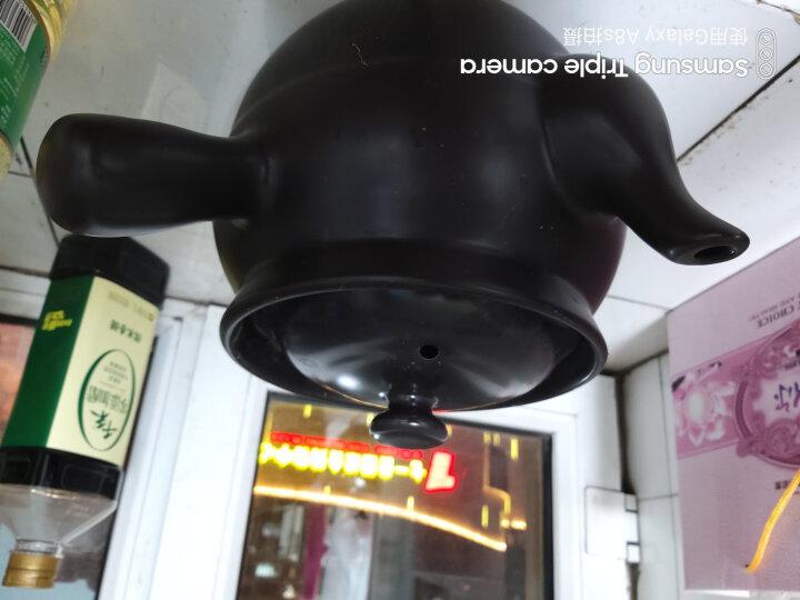 康舒KANGSHU 煎药砂锅 陶瓷家用煎中药 炖汤煲 明火直烧保温药效 3.1升黑+3.3升汤煲 晒单图