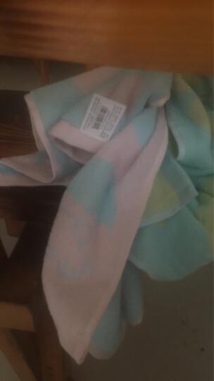 金号 毛巾家纺 纯棉提缎绣花卡通柔软毛巾 两条装 95g/条 70*34cm 晒单图