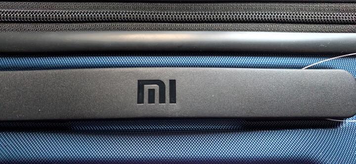 小米(MI)90分旅行箱拉杆箱 男女万向轮登机行李箱 20英寸 月光白 晒单图