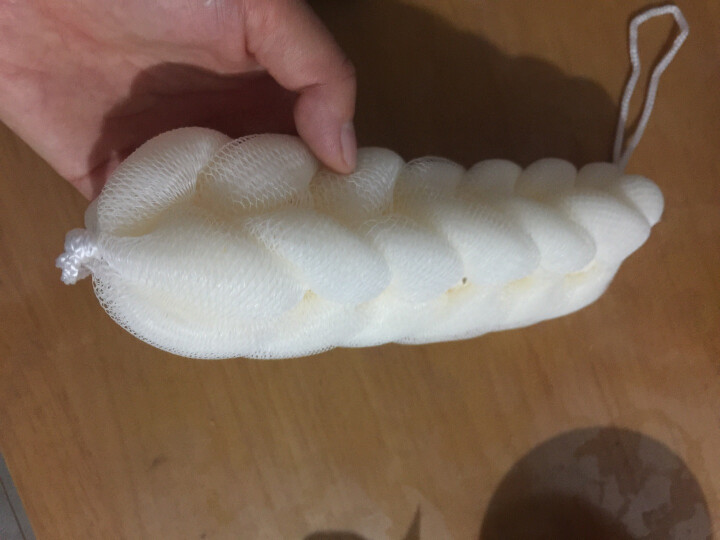 丝妍(Silky Beauty)七节浴条 沐浴花沐浴条搓澡巾沐浴球(颜色随机) 晒单图