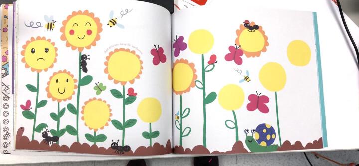 美乐(JoanMiro)儿童涂鸦画本幼儿填色本宝宝画册绘画本纸小女孩玩具 晒单图