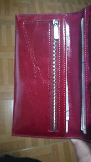 意大利袋鼠(L'ALPINA)简约玲珑淑女优雅短款两折钱包女女包女士包包钱夹女ins 香芋紫粉 晒单图