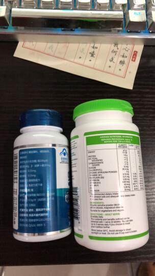Swisse 有机螺旋藻 膳食纤维片 100片/瓶  成人保健 澳洲进口 晒单图