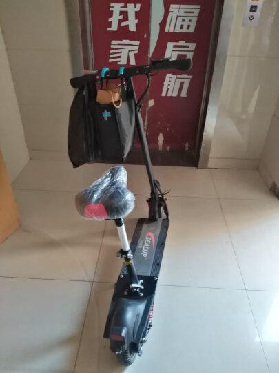 希洛普(SEALUP) 锂电池折叠迷你电动车 城市便携电瓶车自行车  电动滑板车 可折叠电动车电瓶车 Q9/国家3C电机/21.0AH/70-80km 晒单图
