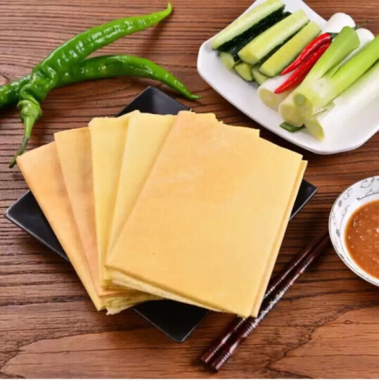 【泰安馆】山东大煎饼五谷杂粮煎饼 2.1kg礼盒 农家手工杂粮粗粮  晒单图