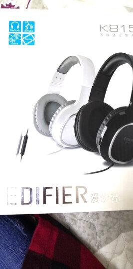 漫步者(EDIFIER)K815P 头戴式电脑耳机耳麦 手机耳机 游戏耳机 吃鸡耳机  办公教育 学习培训 白色 晒单图