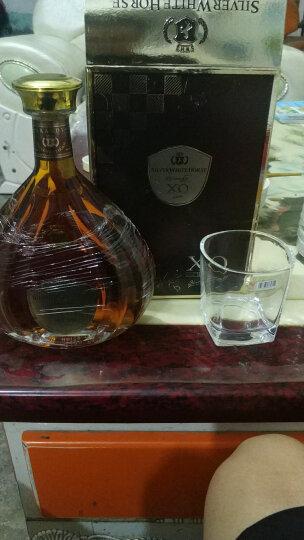 【买三免一】法国洋酒XO白兰地40礼盒 雪银马度烈酒750ml 晒单图