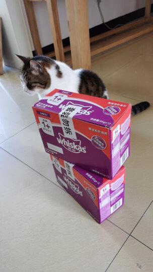 伟嘉猫粮 宠物猫零食 猫湿粮 软包猫罐头 成猫全价妙鲜包 妙鲜双享(金枪鱼+牛肉)六联包85g*6 晒单图