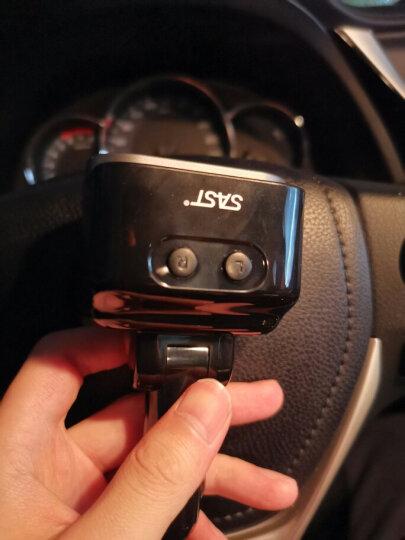 先科(SAST) 车载充电器 车充点烟器 T52灰色 3.4A双USB一拖二 带伸缩数据线 汽车充电器 晒单图