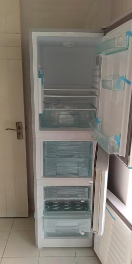 海尔(Haier) 201升 小型三门冰箱 中门软冷冻 节能静音 时尚外观 BCD-201STPA 晒单图