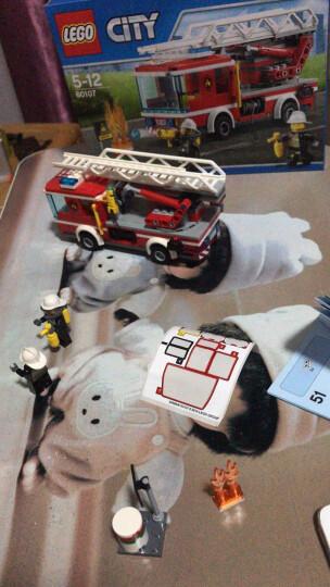 LEGO乐高积木城市消防系列消防车CITY城市消防局高速追捕山地特警追击男孩子拼装玩具 60221 阳光潜水游艇 晒单图