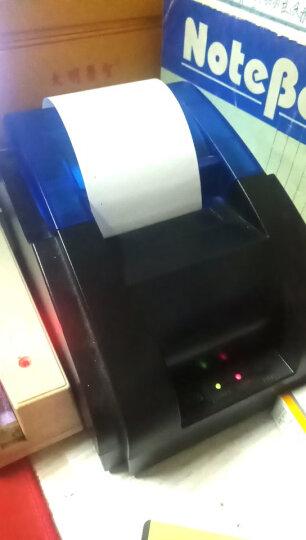 浩顺(Hysoon)有线58mm热敏打印机小票打印机USB线通讯超市餐饮零售商场专卖店小票收银打印 晒单图