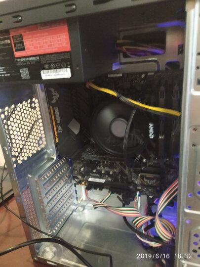 大水牛(BUBALUS)1008升级版机箱+宽V400台式电脑主机电源套装 (配300W电源/支持ATX主板/支持背线) 晒单图