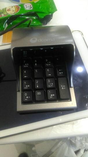 DCOMA KB-8防窥数字小键盘(数字键盘 有线小键盘 密码键盘) KB-8密码小键盘 晒单图