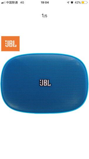 JBL SD-11 BLU 迷你便携式多功能小音响 FM收音机 播放器 插卡音箱 蓝色 晒单图