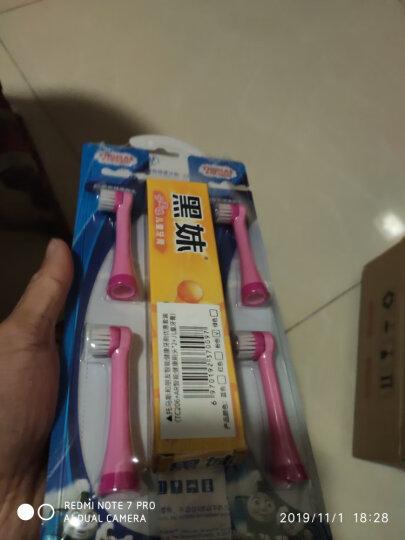 托马斯和朋友(THOMAS&FRIENDS) 儿童电动牙刷软毛3-6-12岁小孩自动旋转牙刷 公主粉 晒单图