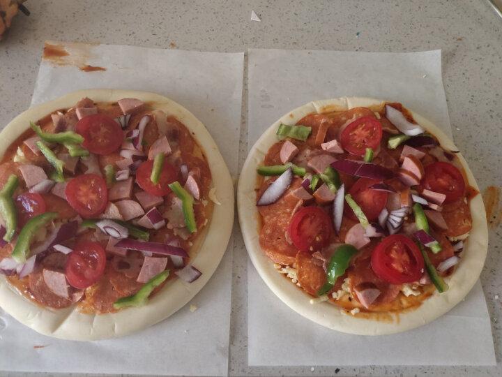 7式 披萨胚 披萨饼底 9英寸 3张 570g  烘焙食材 晒单图