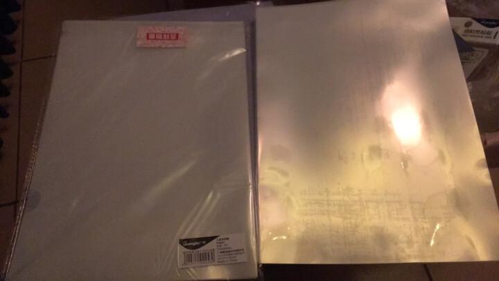 广博(GuangBo)10只装L型A4文件夹/资料夹/透明文件套/办公用品P0001 晒单图