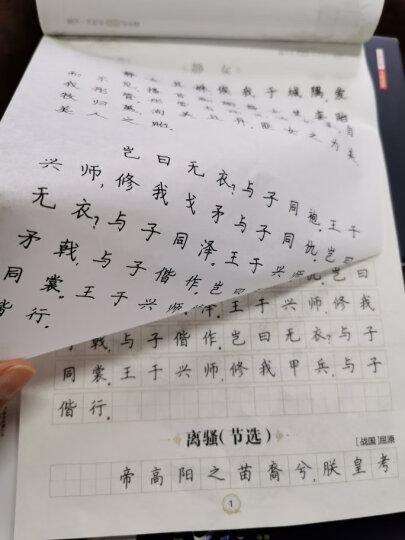 墨点字帖英文书写360°全能训练:初中必背单词 硬笔书法钢笔英文字帖 晒单图